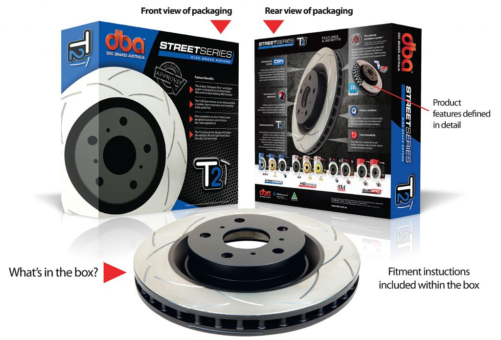 Front Slotted Disc Rotor for FORD FALCON BA 9//02-9//05  D-298 mm PBR504 X2